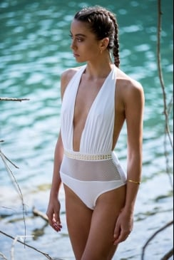 Forever Unique - Cuba - White Swimsuit
