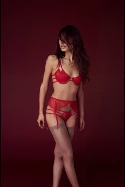 Bluebella - Arabella Red Suspender