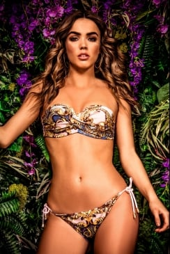 Forever Unique Beachwear - HENI - Baroque Bikini