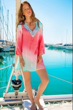 Lindsey Brown Luxe - Resort Wear - Palma - Silk Kaftan