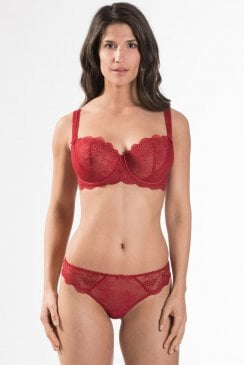 AUBADE À L'AMOUR - Comfort half Cup Bra - Rouge Darling