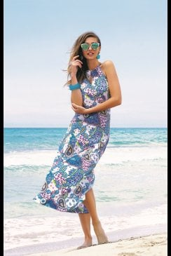 Antigel Swimwear by Lise Charmel - La Bollywood  Antige - Maxi Beach Dress