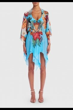 Forever Unique Beachwear - Nerine - Floral Kaftan Dress