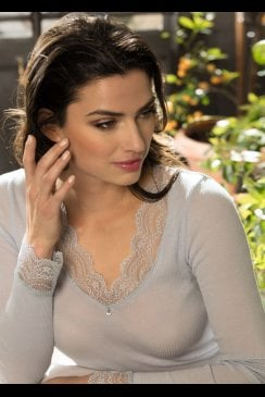 Lise Charmel - Splendeur Soie - Long Sleeve Top