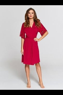 Vanilla Nightwear - Red Robe - 903R