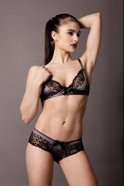 Emma Harris - Signature Steel - Soft Cup Bra