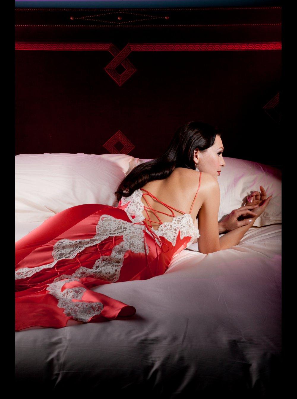 df97ab4eea Jane Woolrich, Silk Nightdress, 7979 - Honeys Lingerie Boutique