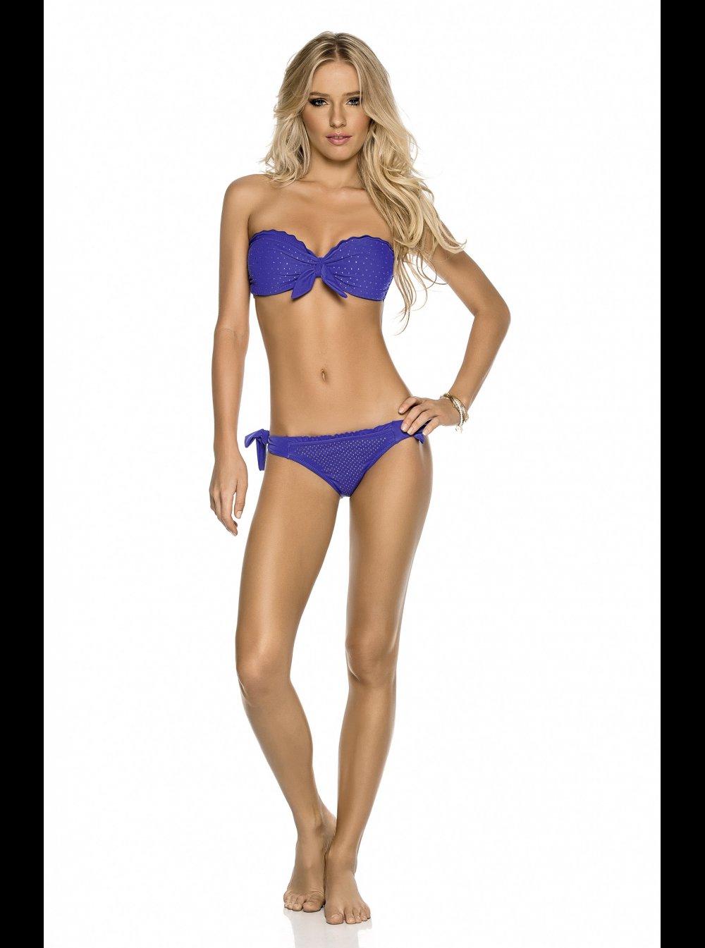 536d6e8620a1 PHAX Swimwear PHAX - Mare - Blueberry Shimmer - Bandeau Bikini